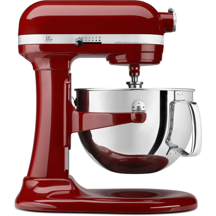 KitchenAid Professional 600 6-Quart 10-Speed Gloss Cinnamon Countertop Stand Mixer