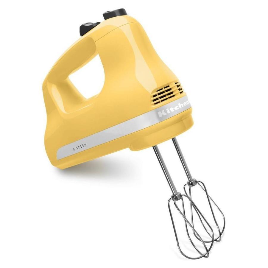 KitchenAid 5-Speed Majestic Yellow Hand Mixer