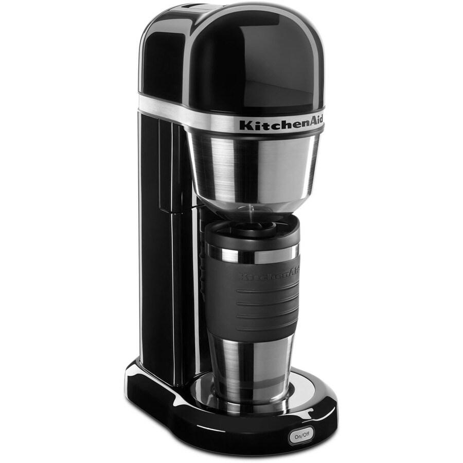 KitchenAid 4-Cup Onyx Black Coffee Maker