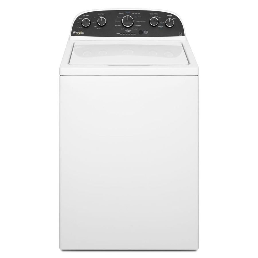 Whirlpool 3.8-cu ft High-Efficiency Top-Load Washer (White)