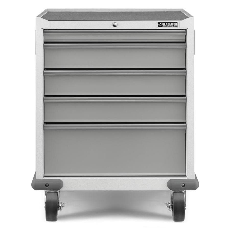 Gladiator 34.5-in x 28-in 5-Drawer Steel Tool Chest