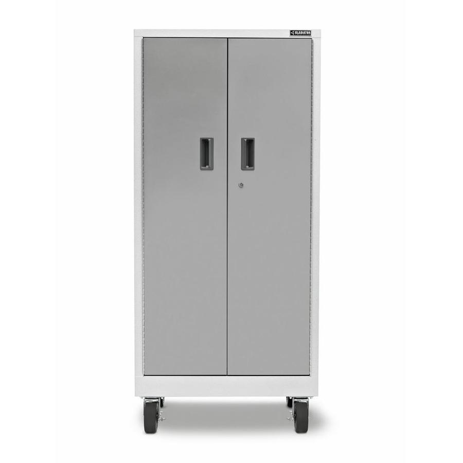 Gladiator 30-in W x 66-in H x 18-in D Steel Freestanding or Wall-Mount Garage Cabinet