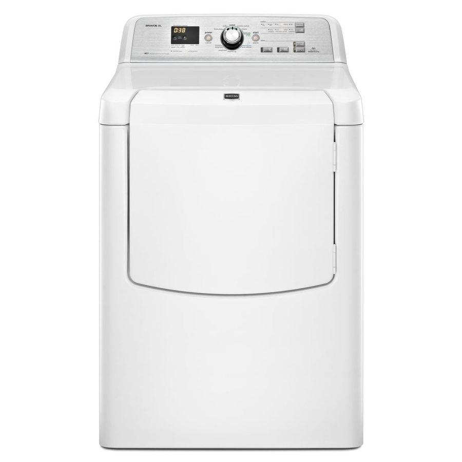 Maytag Bravos XL 7.3-cu ft Gas Dryer (White)