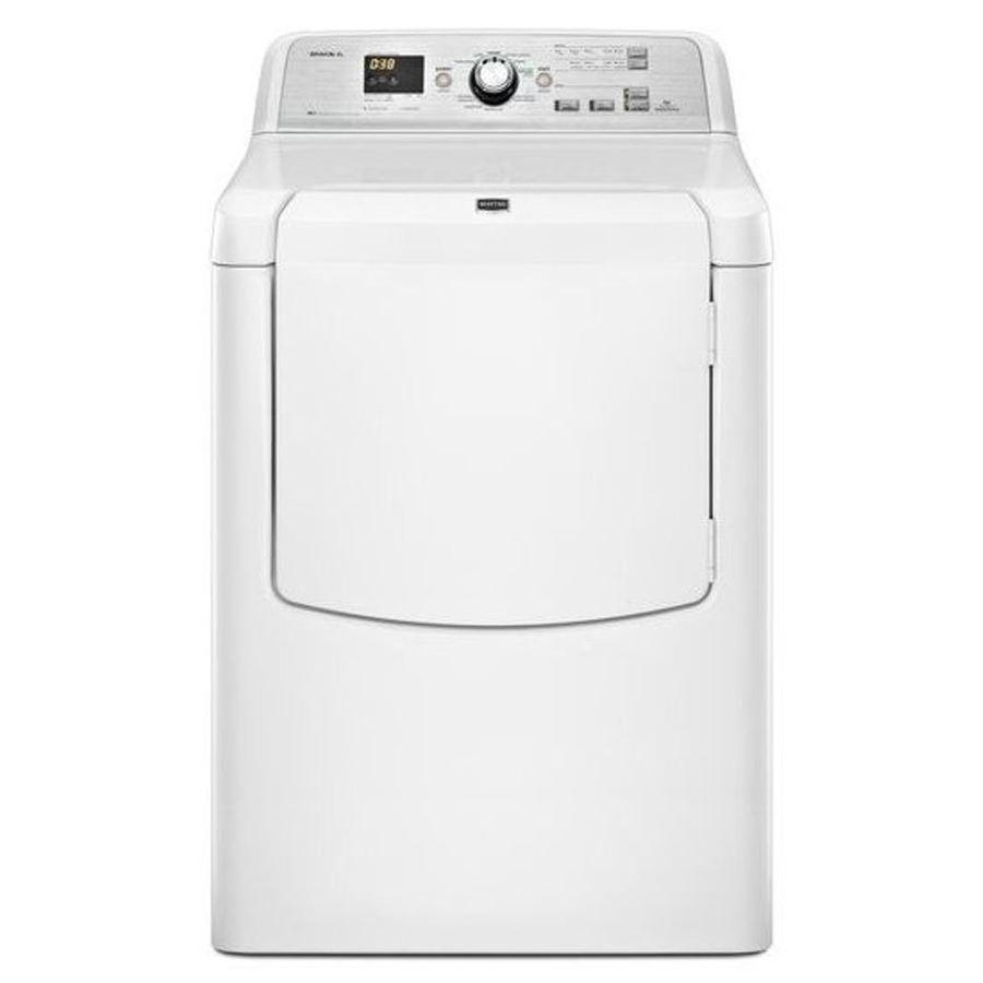 Maytag Bravos XL 7.3-cu ft Electric Dryer (White)