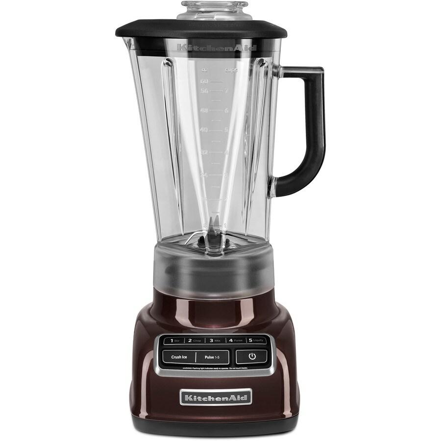 KitchenAid Diamond 60-oz Espresso 5-Speed 630-Watt Pulse Control Blender