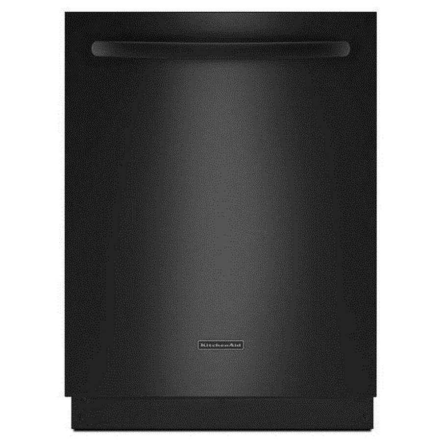 KitchenAid 24-in 46-Decibel Built-in Dishwasher Stainless Steel (Black) ENERGY STAR