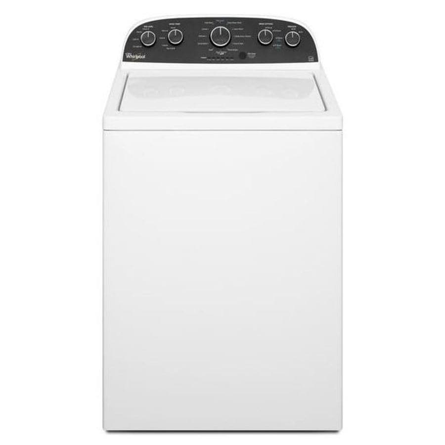 Whirlpool 3.6-cu ft Top-Load Washer (White) ENERGY STAR
