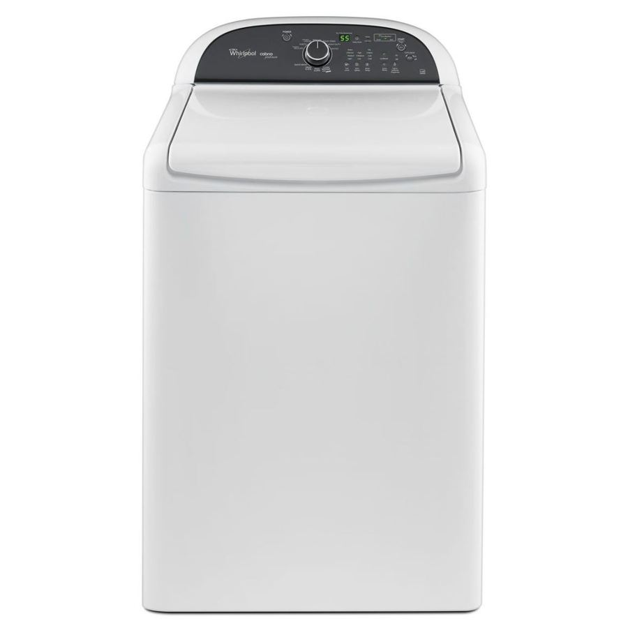 Whirlpool Cabrio 4.5-cu ft High-Efficiency Top-Load Washer (White)