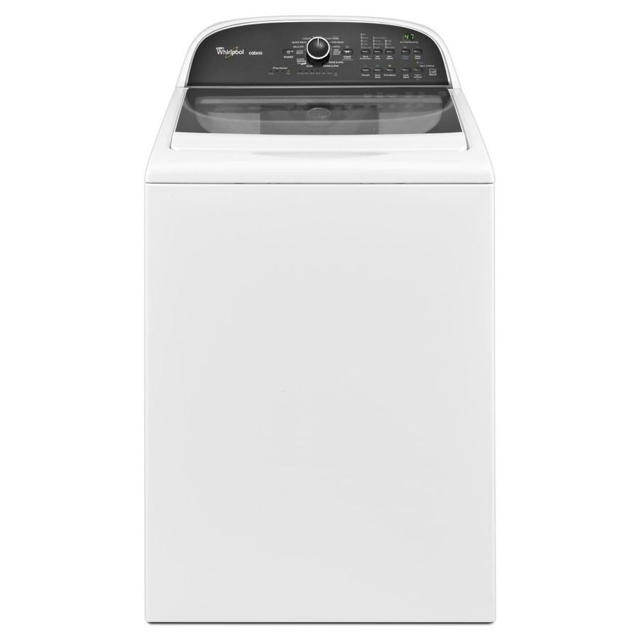 Shop Whirlpool Cabrio 3 8 Cu Ft High Efficiency Top Load