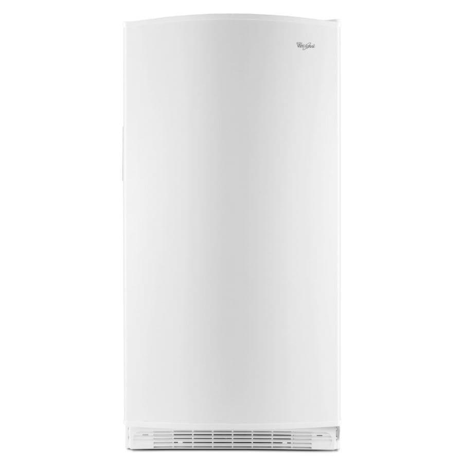 Whirlpool 15.8-cu ft Upright Freezer (White) ENERGY STAR