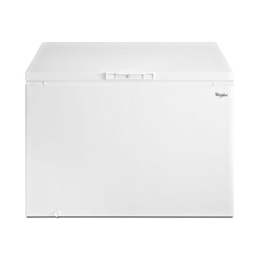 Whirlpool 14.8-cu ft Chest Freezer with Temperature Alarm (White) ENERGY STAR