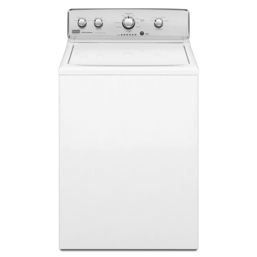 Maytag Centennial 3.6-cu ft Top-Load Washer (White)