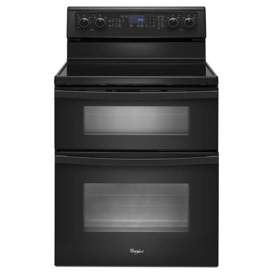Electric Ranges And Ovens ~ Shop whirlpool in smooth surface element cu ft