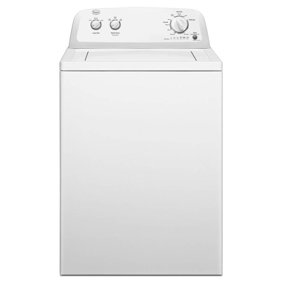 Roper 3.6-cu ft Top-Load Washer (White)