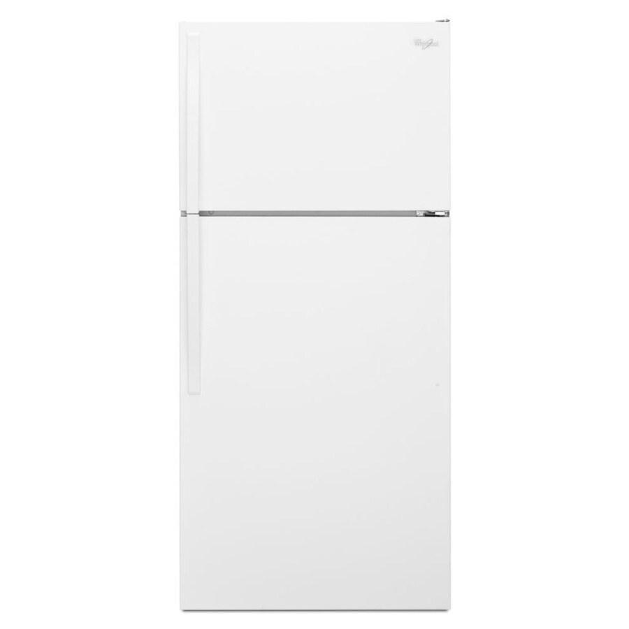 Whirlpool 14.3-cu ft Top-Freezer Refrigerator (White)