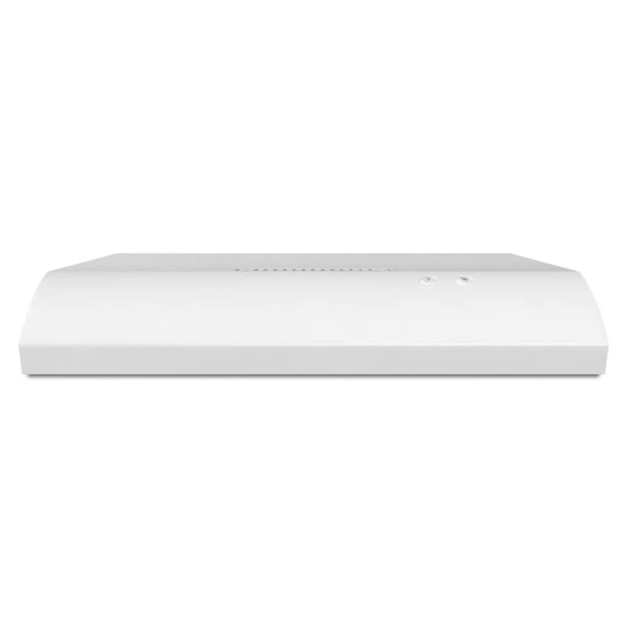 Whirlpool Undercabinet Range Hood (White) (Common: 36-in; Actual: 35.938-in)