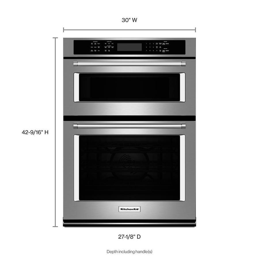 KITCHENAIDE WALL OVEN MICROWAVE COMBO OVEN RACK W10554526  FROM KOCE500ESS09