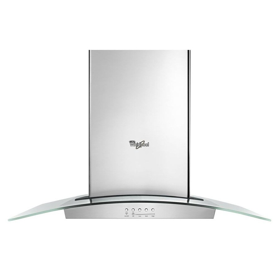 Whirlpool Convertible Wall-Mounted Range Hood (Stainless Steel) (Common: 36-in; Actual: 36-in)