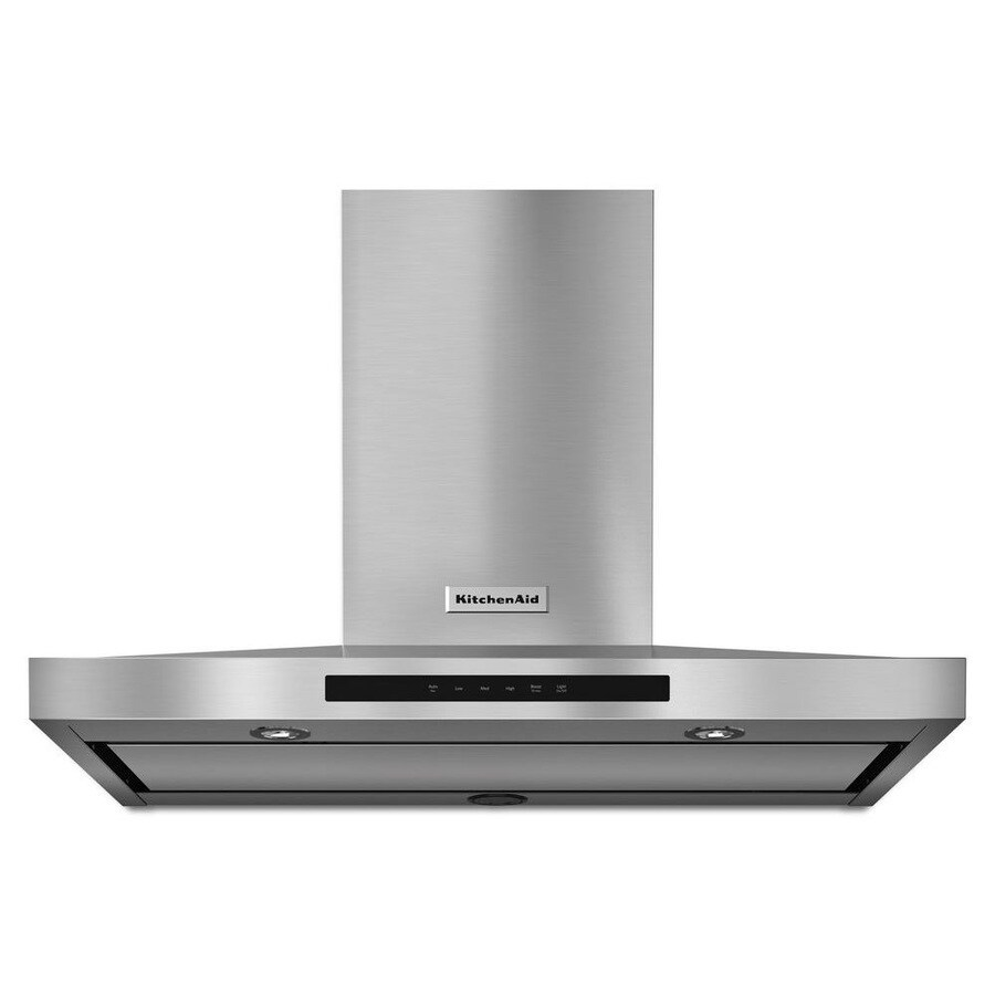 KitchenAid Convertible Wall-Mounted Range Hood (Stainless Steel) (Common: 36-in; Actual: 36-in)