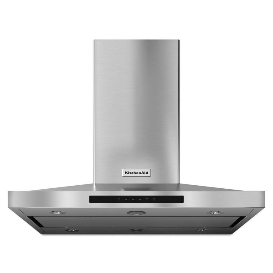 KitchenAid Convertible Island Range Hood (Stainless Steel) (Common: 42-in; Actual: 42-in)