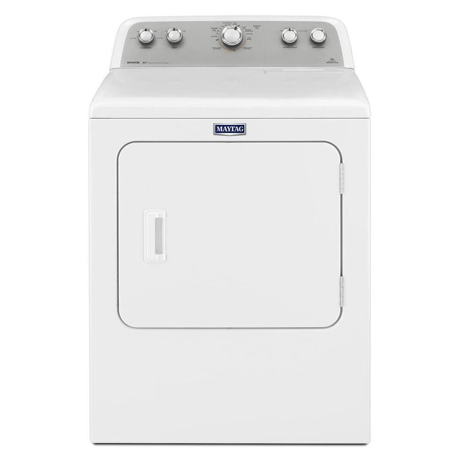 Maytag Bravos 7-cu ft Gas Dryer (White)