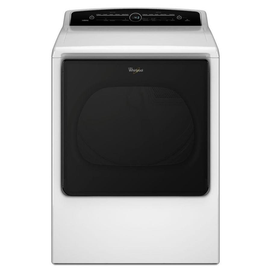 Whirlpool 8.8-cu ft Electric Dryer (White) ENERGY STAR