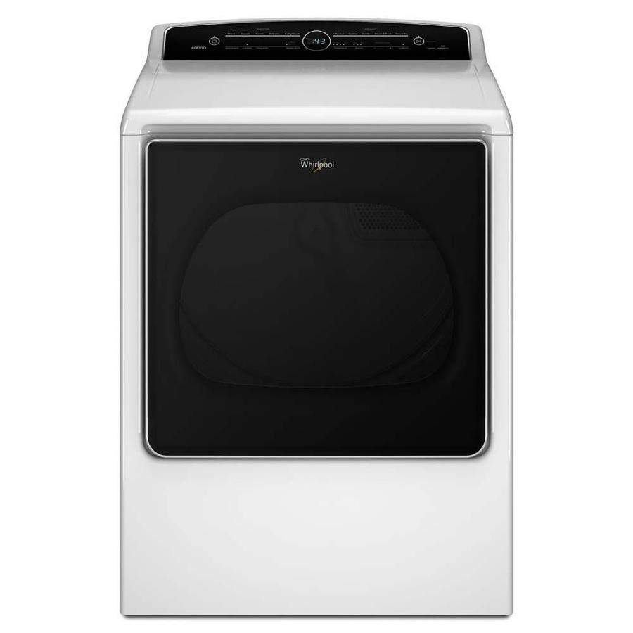 Whirlpool Cabrio 8.8-cu ft Gas Dryer with Steam Cycle (White)