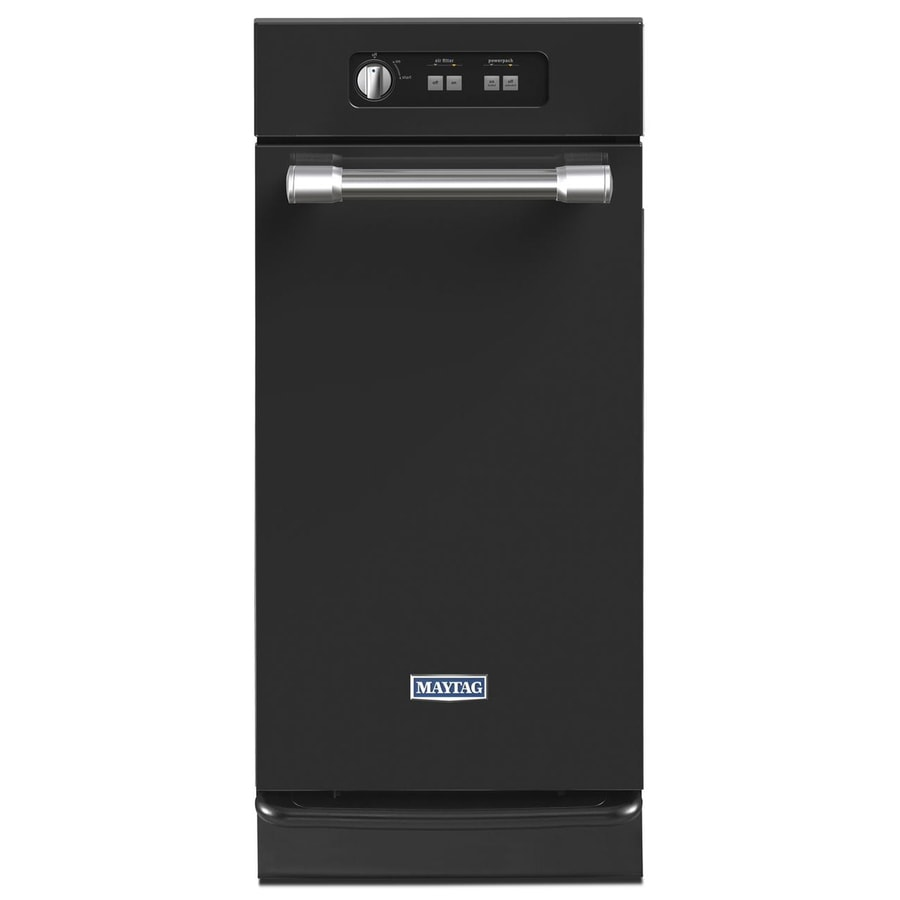 Shop Maytag 15 In Black Undercounter Trash Compactor At