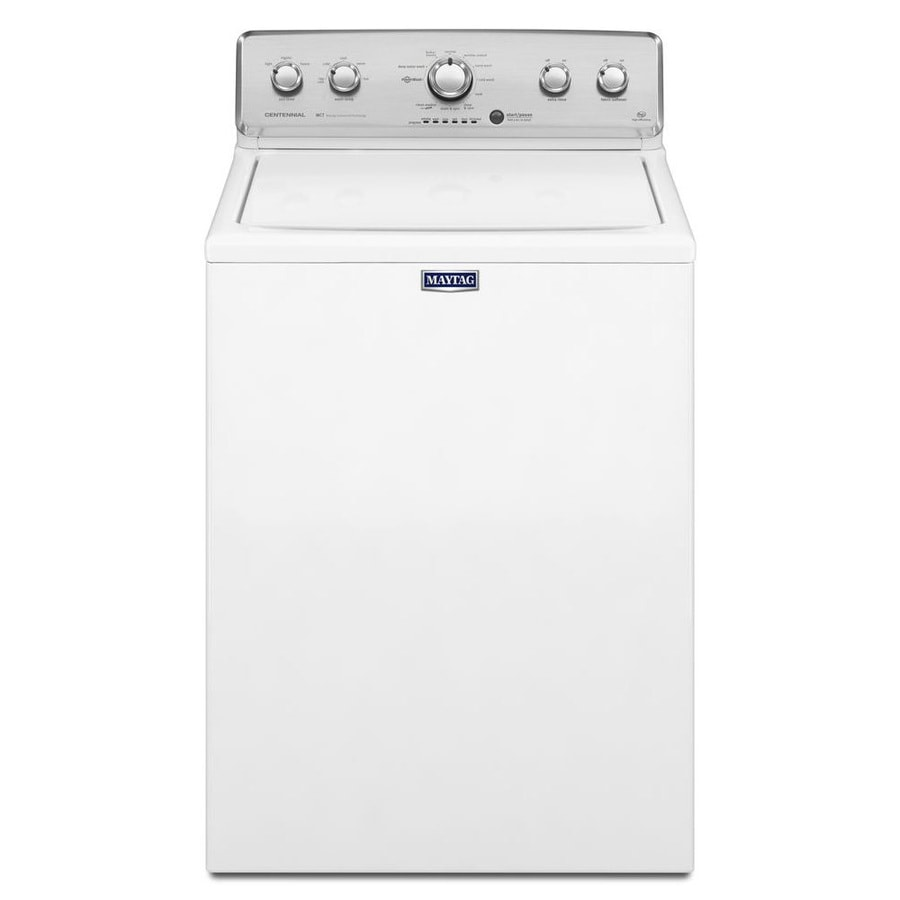 Maytag Centennial 4.3-cu ft High-Efficiency Top-Load Washer (White)