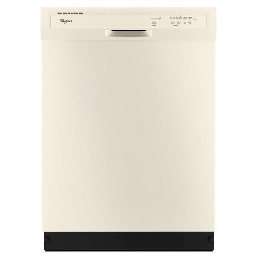 Whirlpool 55-Decibel Built-In Dishwasher (Biscuit) (Common: 24-in; Actual: 23.875-in) ENERGY STAR