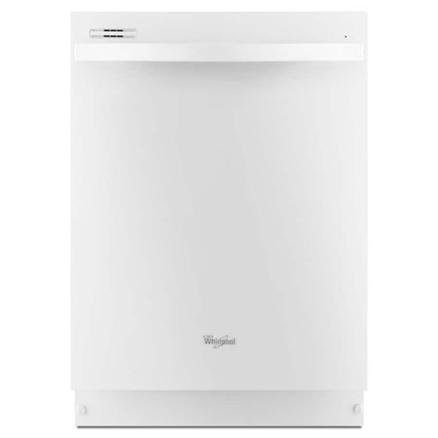 Shop Whirlpool Gold 51-Decibel Built-In Dishwasher (White