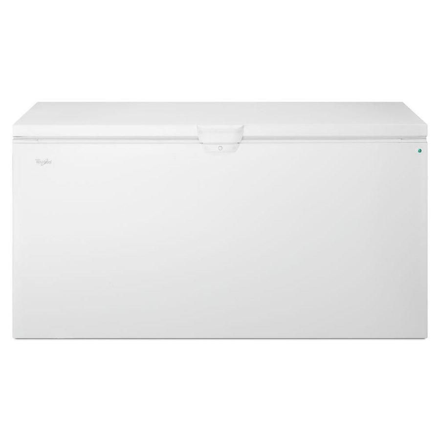 Shop Whirlpool 21 7 Cu Ft Chest Freezer With Temperature