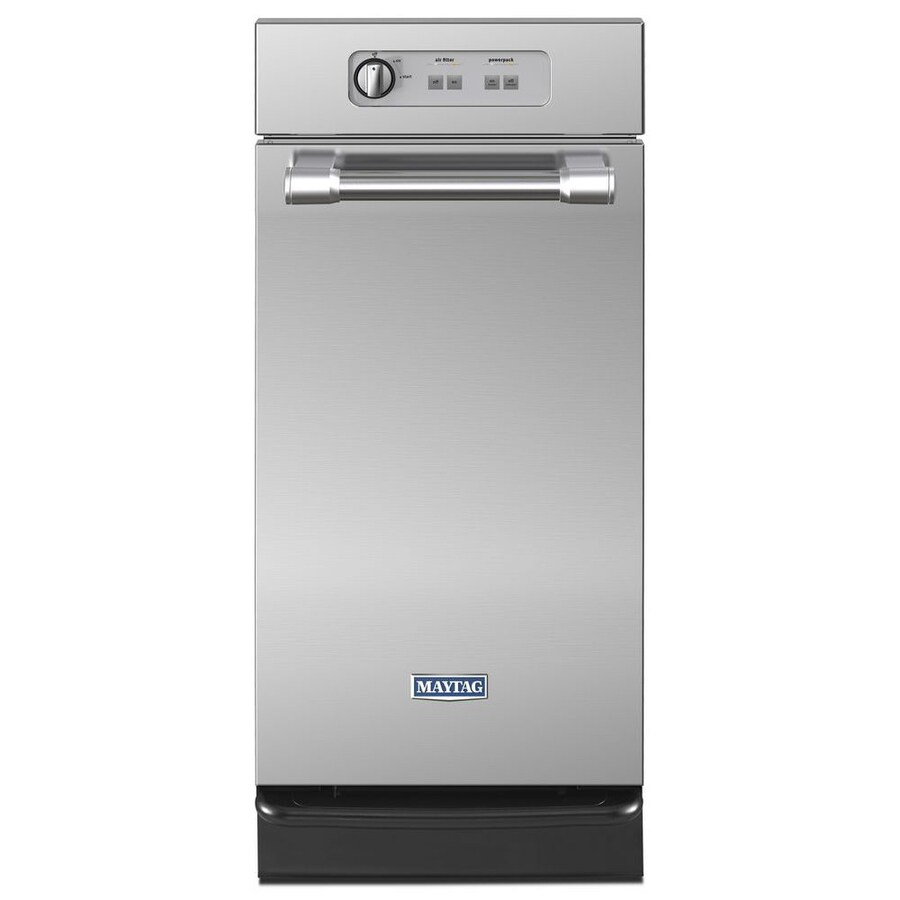 Shop Maytag 15 In Stainless Steel Undercounter Trash