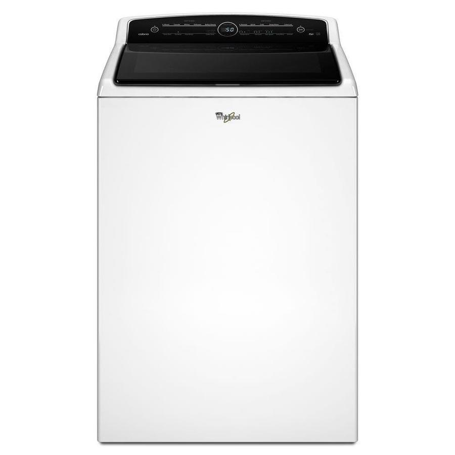 Whirlpool 5.3-cu ft High-Efficiency Top-Load Washer (White) ENERGY STAR