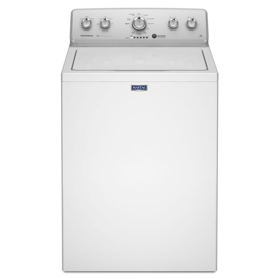 Maytag 3.6-cu ft High-Efficiency Top-Load Washer (White)