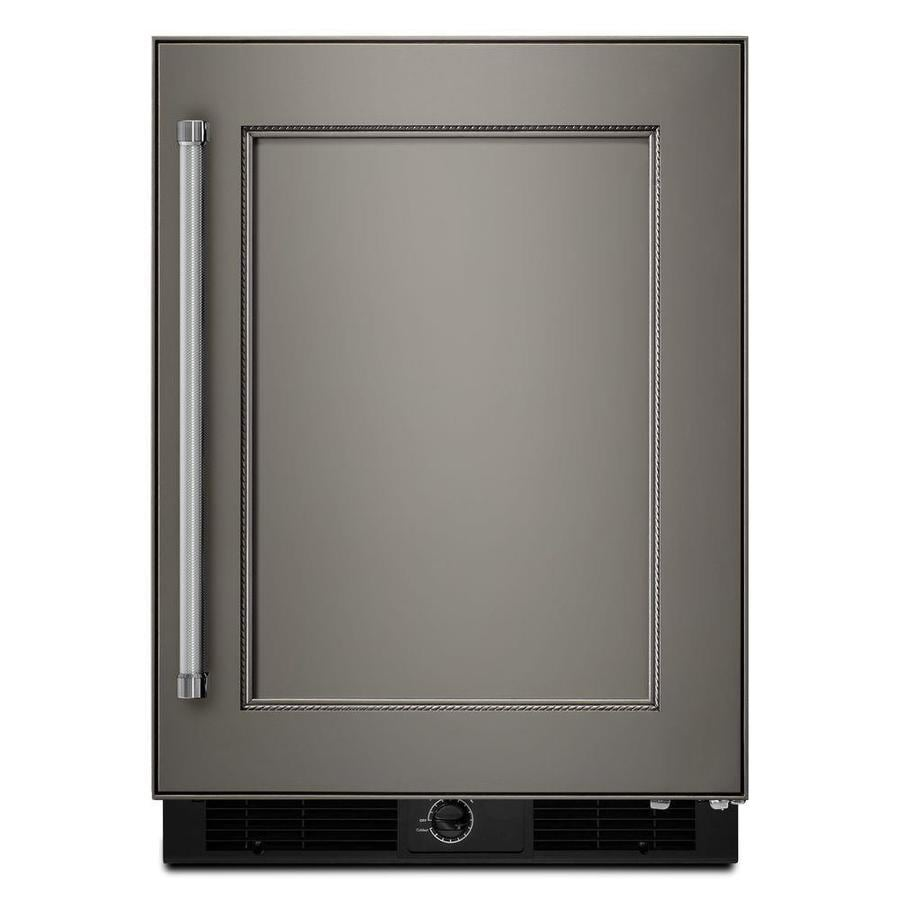 KitchenAid 4.9-cu ft Built-In/Freestanding Compact Refrigerator (Panel Ready)