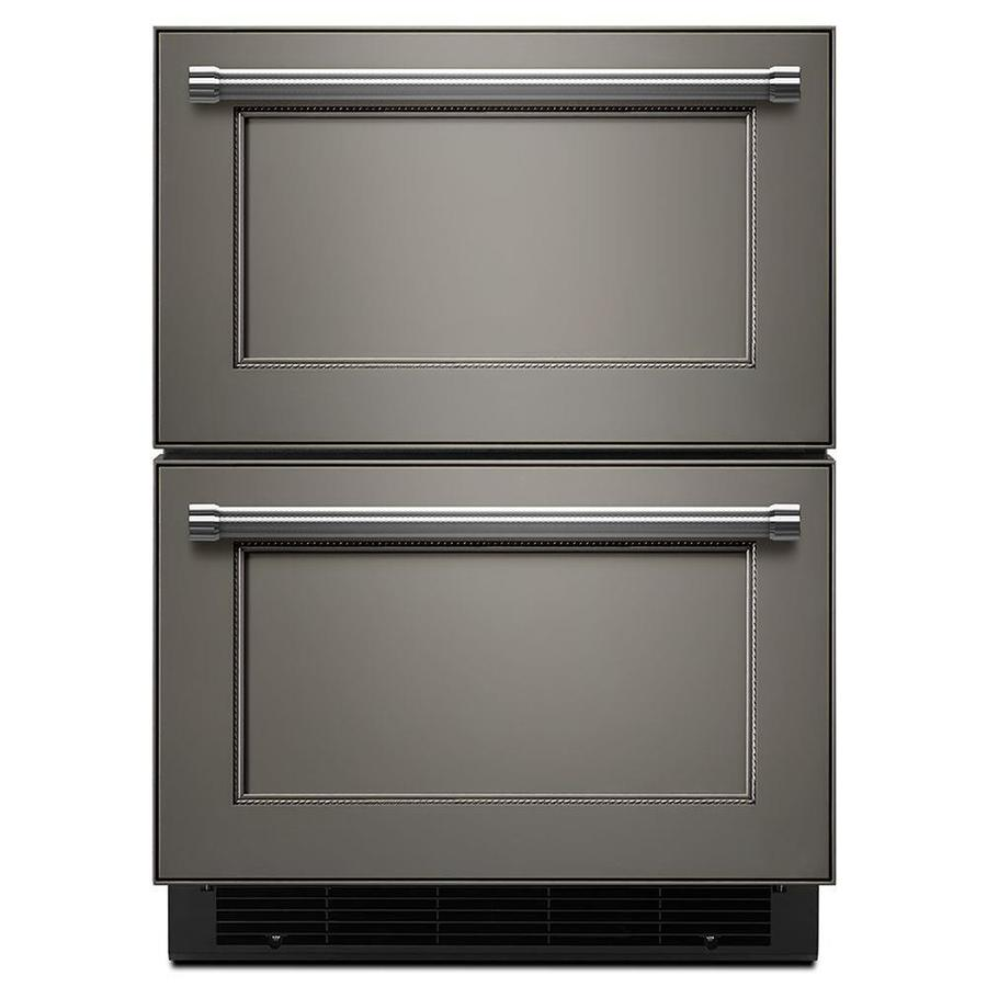 Shop Kitchenaid 23 75 In Built In Double Drawer