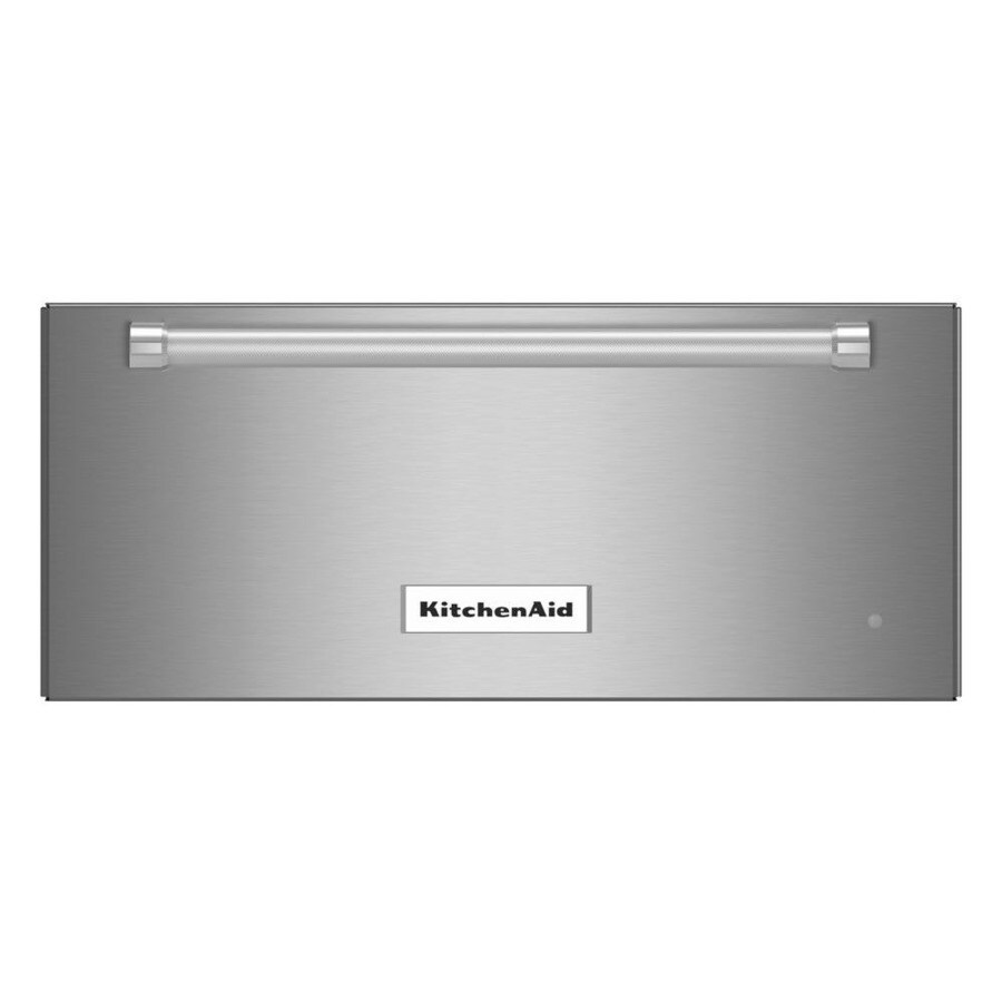 KitchenAid Warming Drawer (Stainless Steel) (Common: 24-in; Actual: 23.75-in)