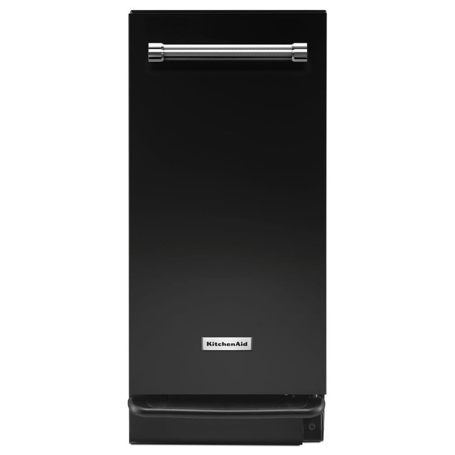 Shop Kitchenaid 15 In Black Undercounter Trash Compactor