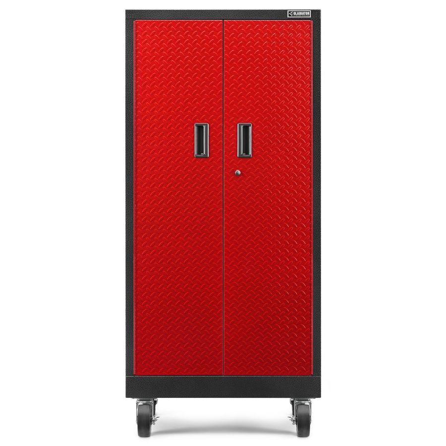 Gladiator Premier 30-in W x 65.25-in H x 18-in D Steel Freestanding or Wall-Mount Garage Cabinet