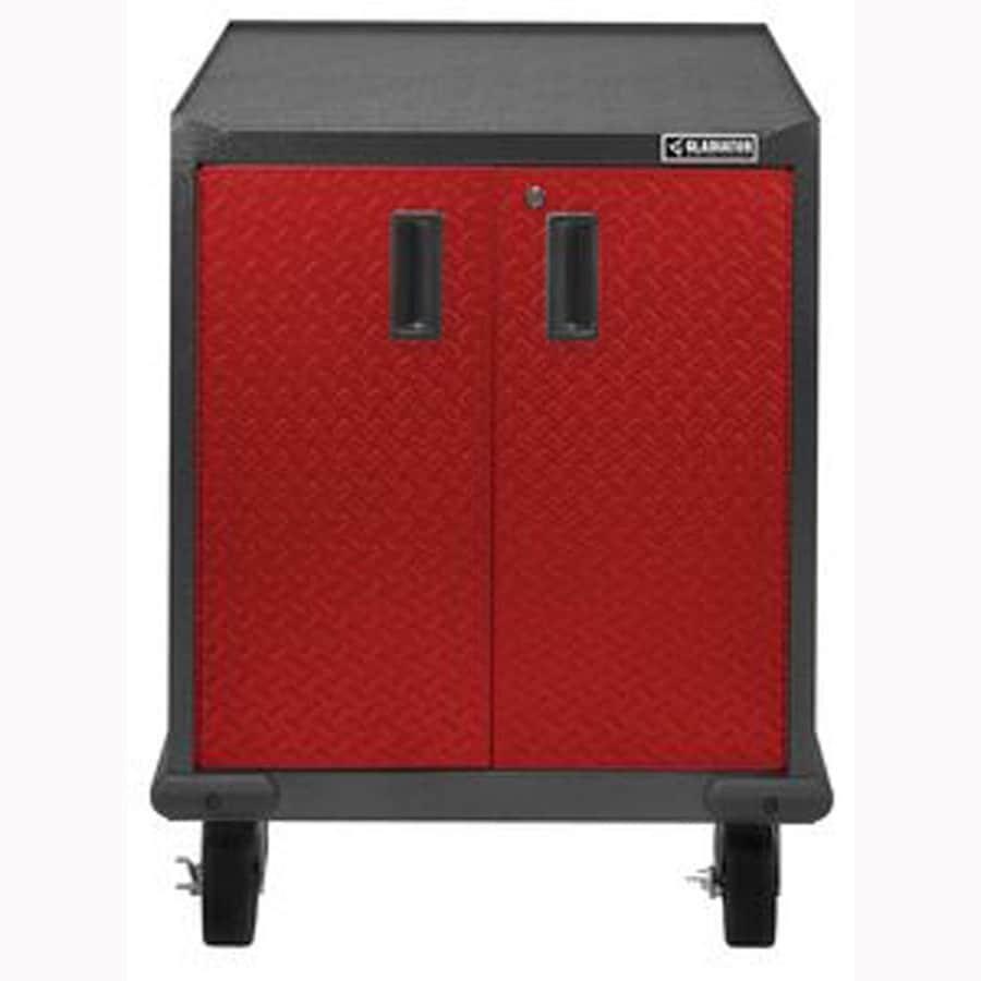 Gladiator 28-in W x 34.5-in H x 25-in D Steel Freestanding Garage Cabinet