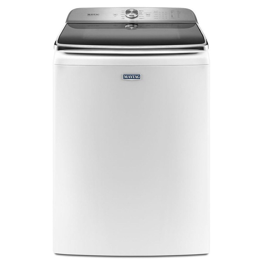 Maytag 6.2-cu ft High-Efficiency Top-Load Washer (White) ENERGY STAR