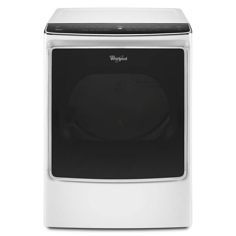 Whirlpool 9.2-cu ft Electric Dryer (White) ENERGY STAR