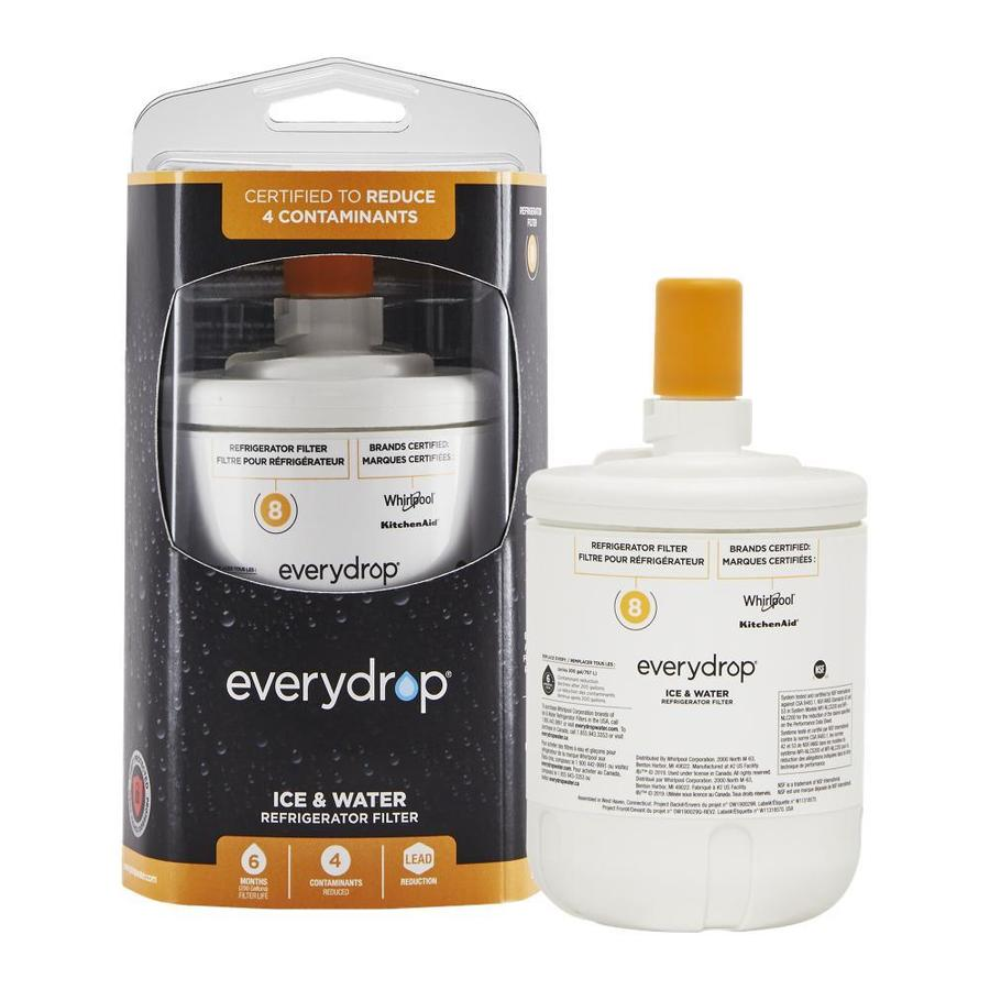 EveryDrop by Whirlpool Filter 8 6-Month Refrigerator Water Filter