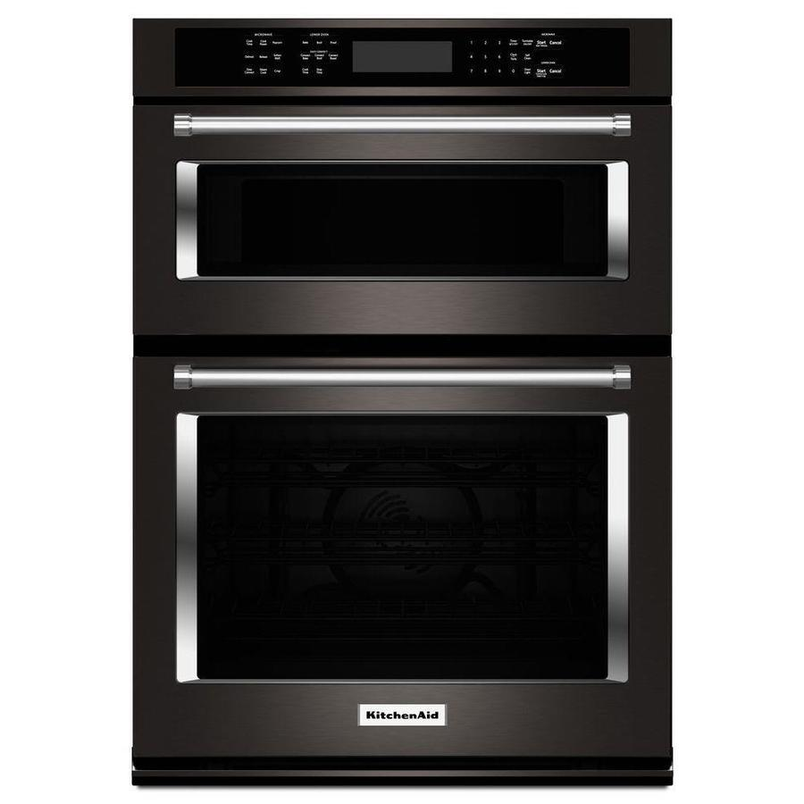Shop kitchenaid self cleaning convection microwave wall oven combo common 30 in actual 30 in - Kitchenaid microwave ...