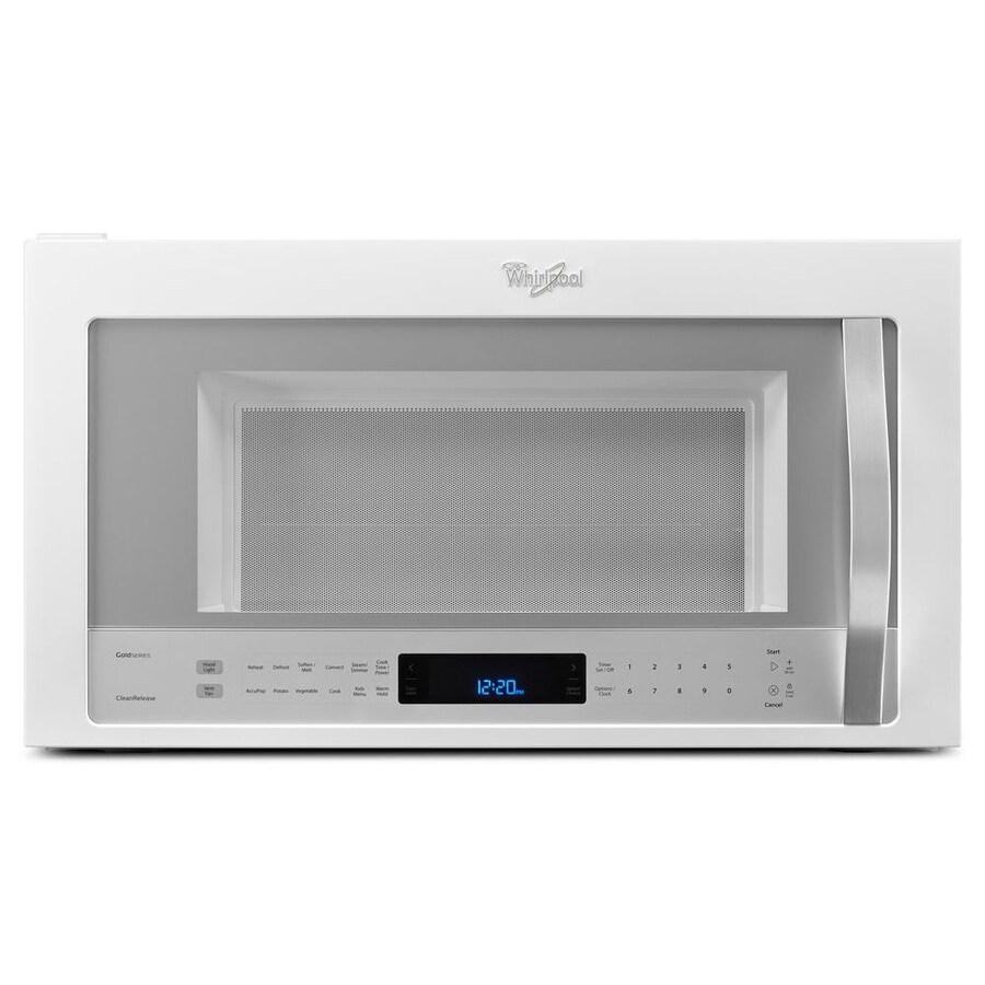 Shop Whirlpool 1 9 Cu Ft Over The Range Convection