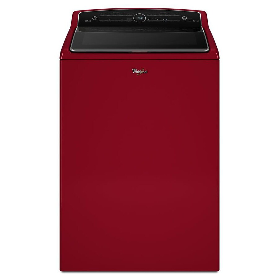 Whirlpool Cabrio 5.3-cu ft High-Efficiency Top-Load Washer (Cranberry Red) ENERGY STAR
