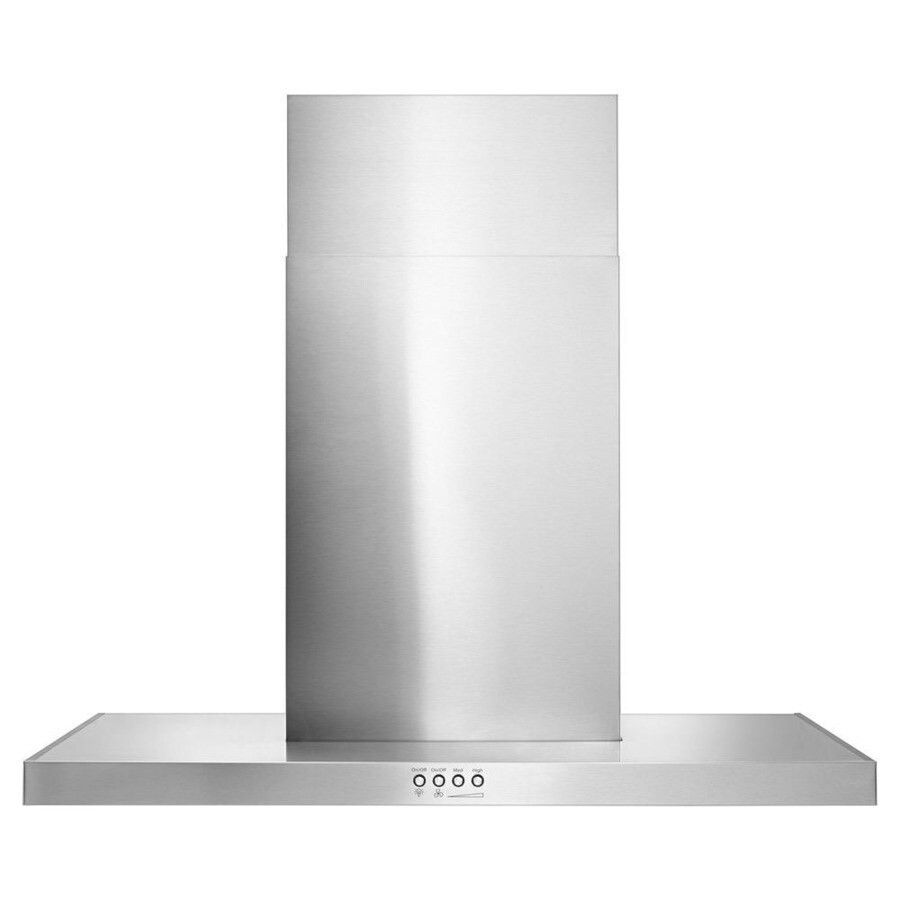 Whirlpool Convertible Wall-Mounted Range Hood (Stainless Steel 30-in; Actual 30-in)