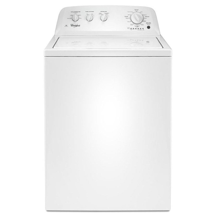 Shop Whirlpool 3.5-cu ft Top-Load Washer (White) at Lowes.com