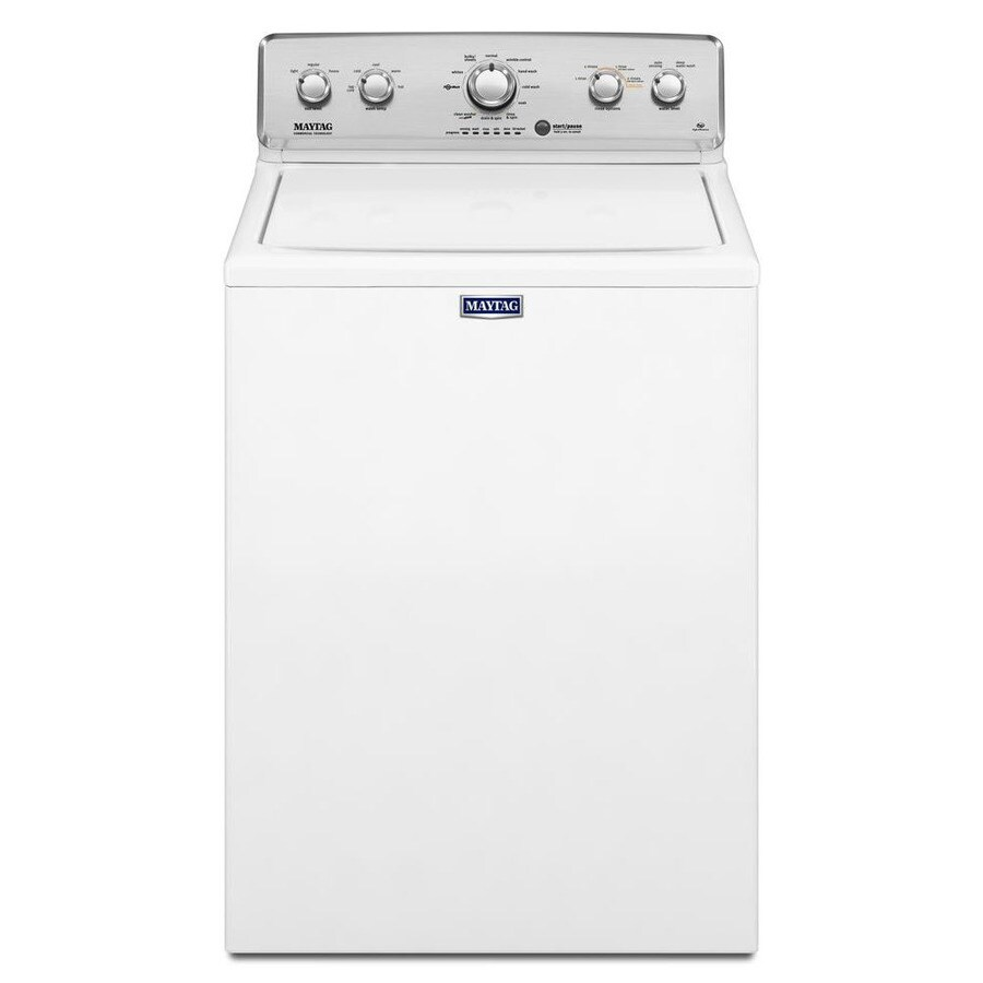 Shop Maytag 3 6 Cu Ft High Efficiency Top Load Washer